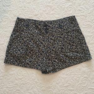 Anthropologie Hei Hei Anchor High Waist Shorts